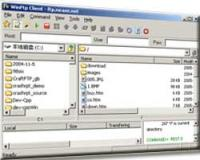Win FTP Client Professional 1.90 screenshot. Click to enlarge!