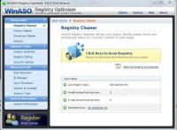 WinASO Registry Optimizer 5.3.0.0 screenshot. Click to enlarge!