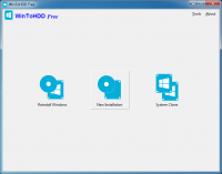 WinToHDD 2.5 (Build: May 9 20 screenshot. Click to enlarge!