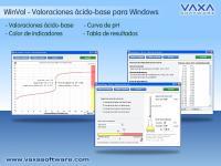 WinVal. Valoracion acido base 1.1 screenshot. Click to enlarge!