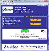 Wireless Wizard 6.6 screenshot. Click to enlarge!
