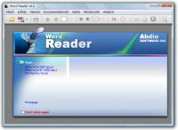 Word Reader 6.6 screenshot. Click to enlarge!