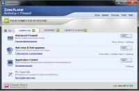 ZoneAlarm Pro Antivirus   Firewall 15.1.501.17249 screenshot. Click to enlarge!