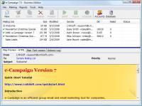 e-Campaign 11.4.5.2380 screenshot. Click to enlarge!