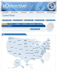 eDetective 1.0 screenshot. Click to enlarge!