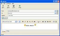 eMailer 4.0 screenshot. Click to enlarge!