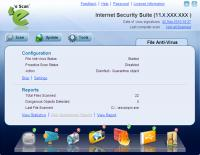 eScan Internet Security Suite 14.0.1400.1849 screenshot. Click to enlarge!