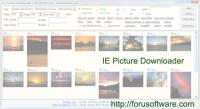 ie picture downloader 8.4 screenshot. Click to enlarge!