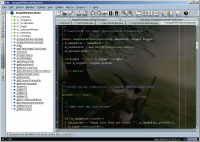 jEdit 5.3.0 screenshot. Click to enlarge!