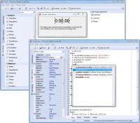 pdScript IDE 0.9.5 screenshot. Click to enlarge!