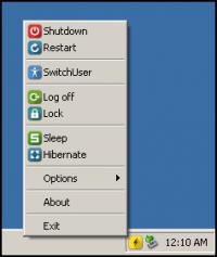 sTray 1.0.0.1 screenshot. Click to enlarge!