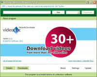 video4pc Metacafe Downloader 2.11 screenshot. Click to enlarge!