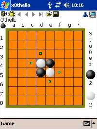 xOthello for Pocket PC 1.1 screenshot. Click to enlarge!